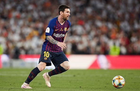 Messi would be Barcelona