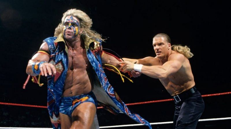 Triple H was humiliated by The Ultimate Warrior
