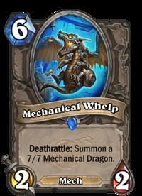 A 1/1 Whelp to summon a 7/7 is one such potential effect