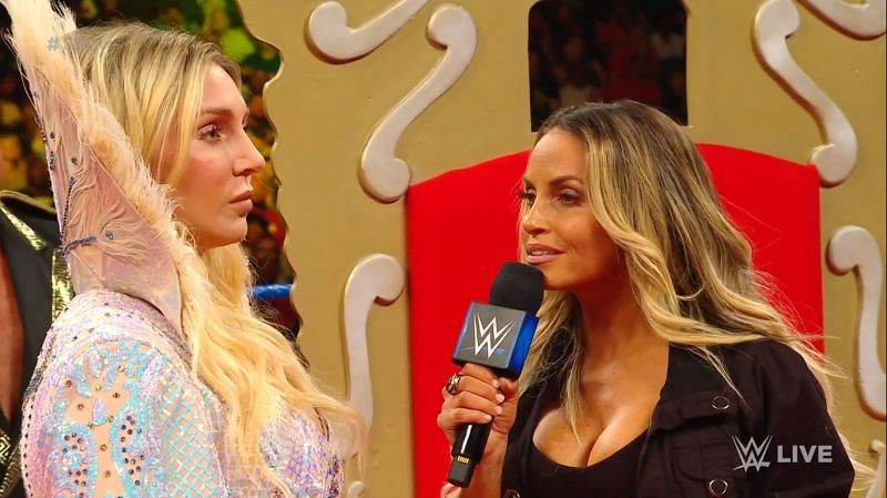 Charlotte Flair and Trish Strat