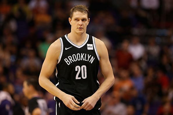 Timofey Mozgov failed to play a single minute of basketball during the 18-19 season