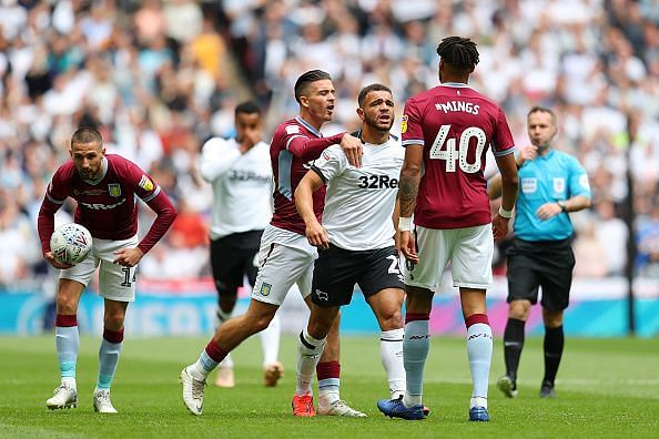 Mings was a standout player for Villa last season