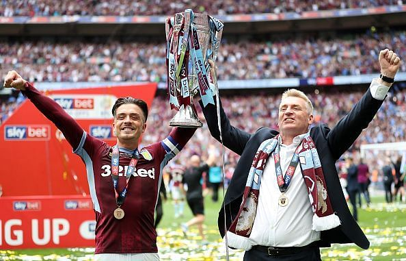 Aston Villa make their return to Premier League after a gap of years