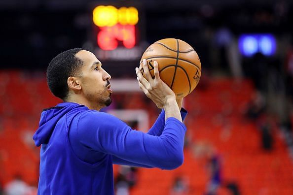 Shaun Livingston was released by the Golden State Warriors earlier this month