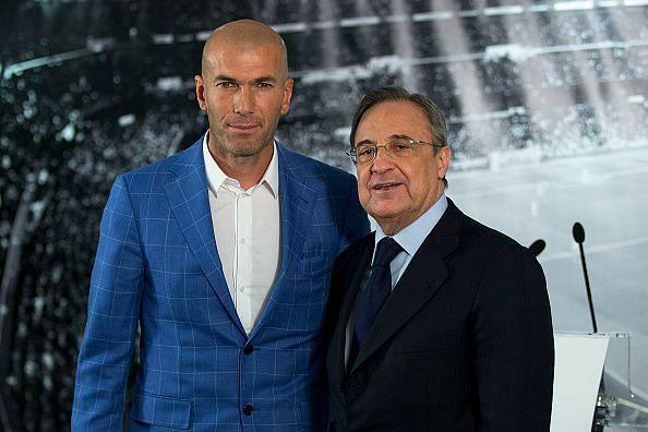 Zidane seemingly doesn
