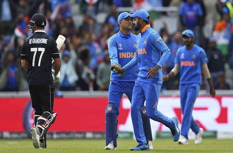 भारतीय क्रिकेट टीम और न्यूजीलैंड टीम