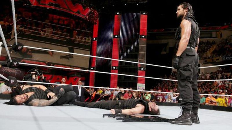 Rollins betrays The Shield