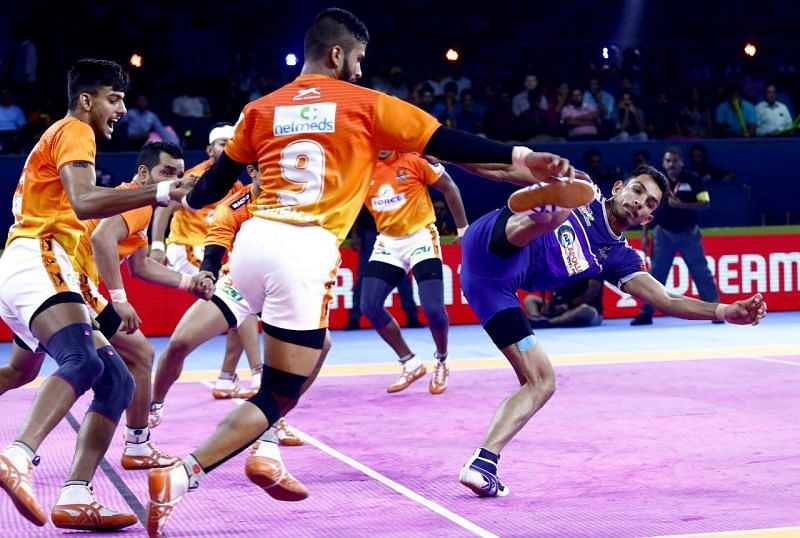 Haryana Steelers comfortably won the match against the Puneri Paltan