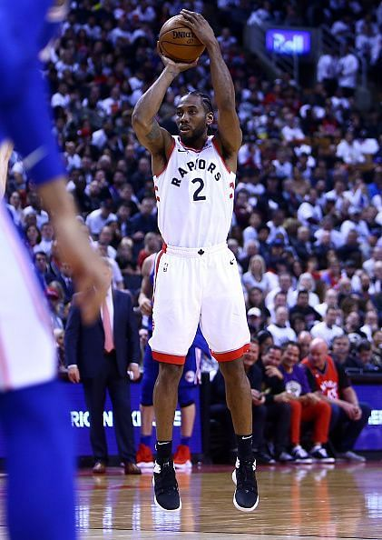 Kawhi was an enigma against the 76ers