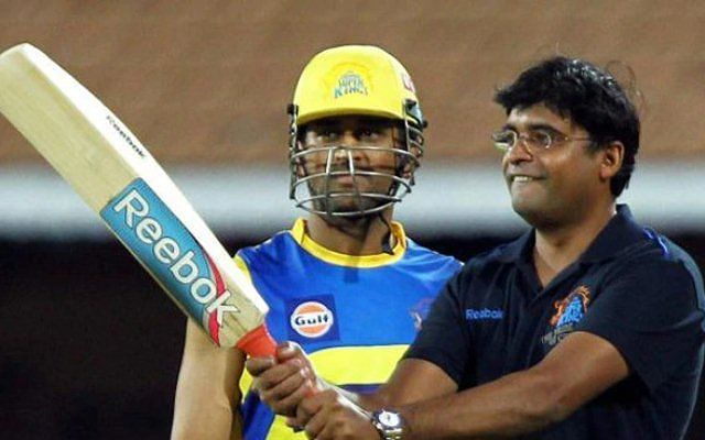 MS Dhoni in the IPL