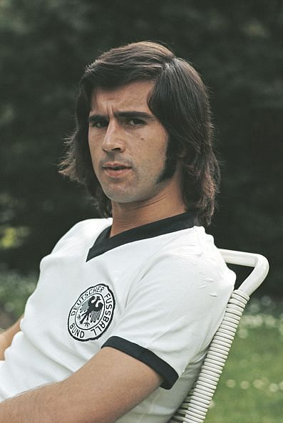 Gerd Muller West Germany Forward 1972