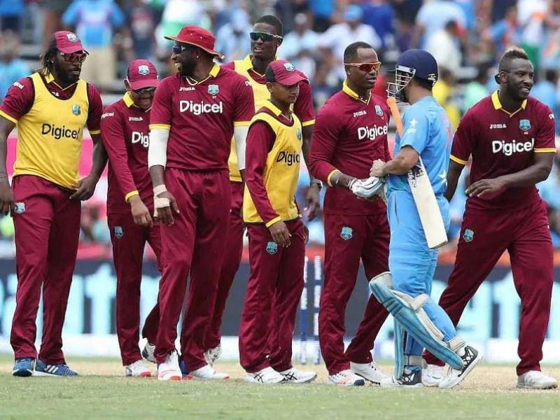 The West Indies team