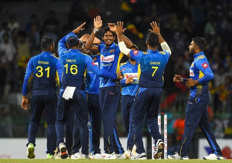 Srilanka won the series by 3-0