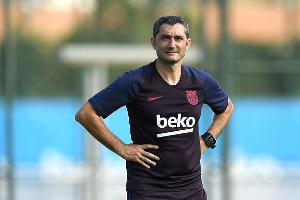 FC Barcelona Pre-Season Training Session