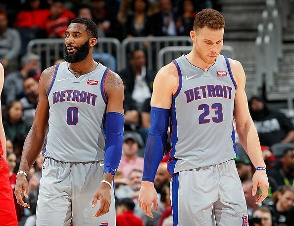 Can Blake Griffin and Andre Drummond take the Pistons deep into the playoffs?