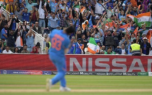 भारत ने वर्ल्ड कप 2019 के सेमीफाइनल में