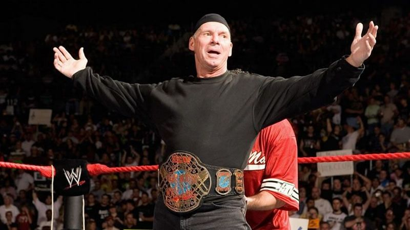 Vince McMahon: Amazingly a two time World Champion in his own company