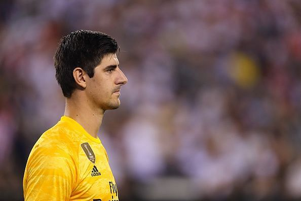 Courtois is a two-time winner of the Zamora trophy
