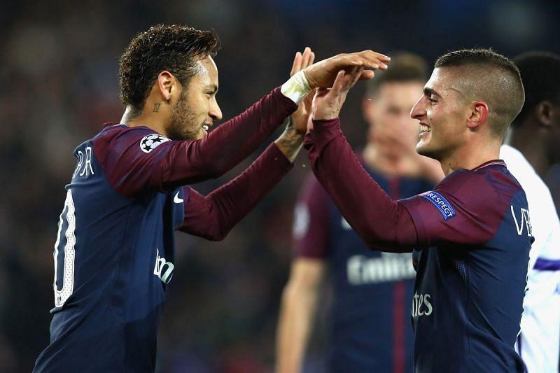 Neymar and Verratti