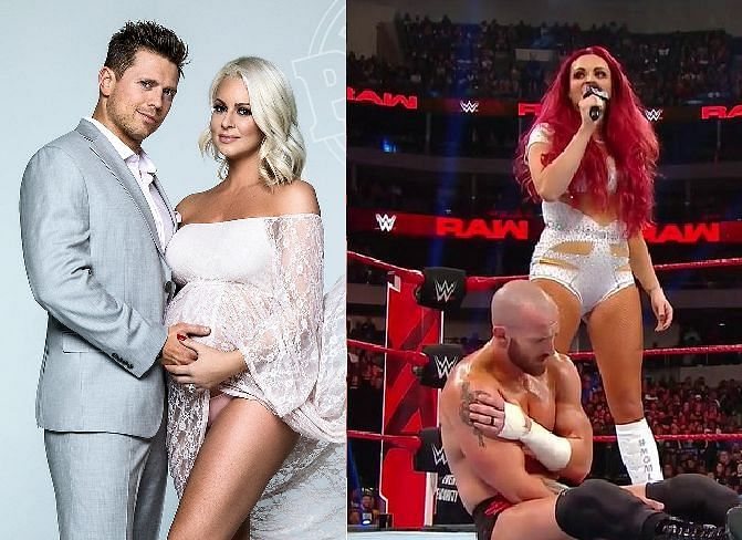 WWE has allowed a number of women to announce their pregnancies on Raw