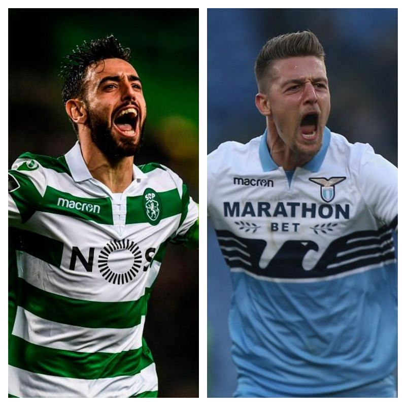 Manchester United should sign both Bruno Fernandes and Sergej Milinkovic-Savic