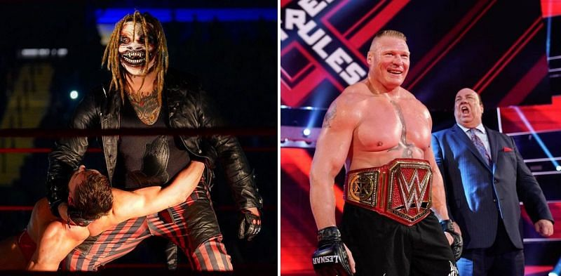 Could Wyatt be the one to topple the Universal Champion, Brock Lesnar?