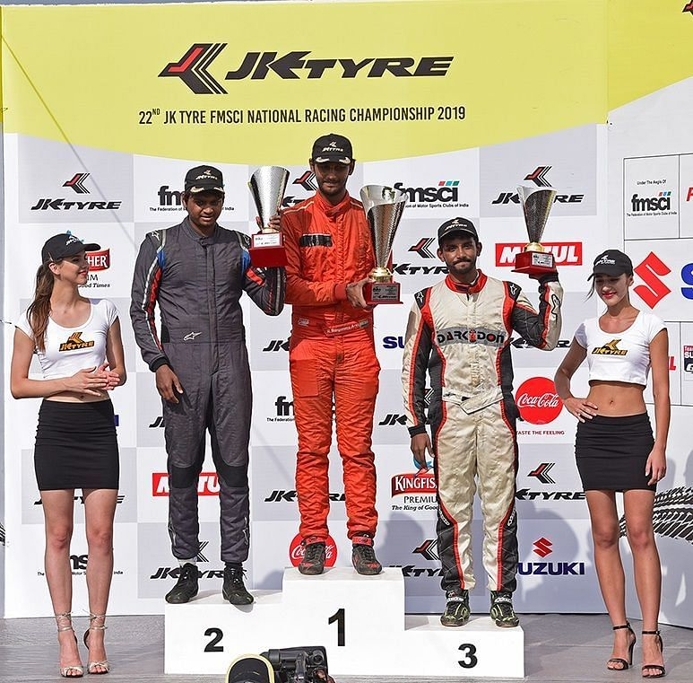 Raghul Rangasamy won the opening race of Day 2 in the LGB Formula 4
