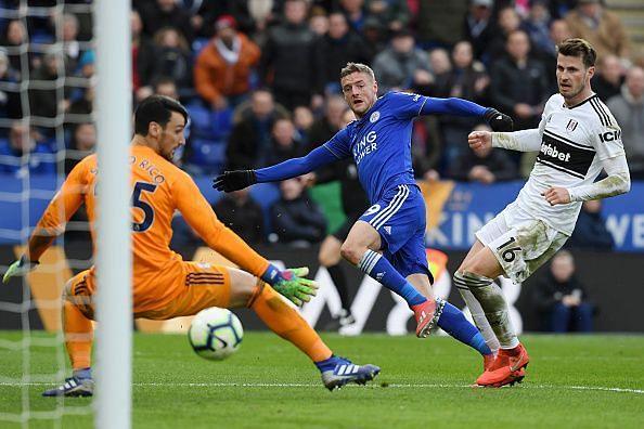 Leicester City v Fulham FC - Premier League