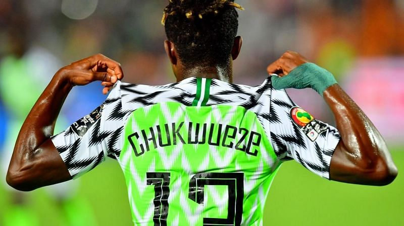 Samuel Chukwueze got the ball rolling for Nigeria