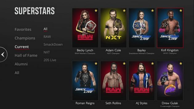 In case you forget who your favorite Superstars are