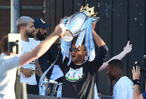 Manchester City Teams Celebration Parade