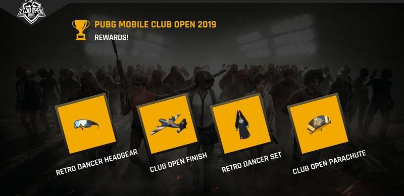 PUBG Mobile Rewards