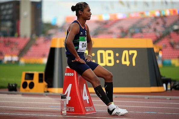 Hima is the first Indian woman to win a gold at the IAAF World Championships