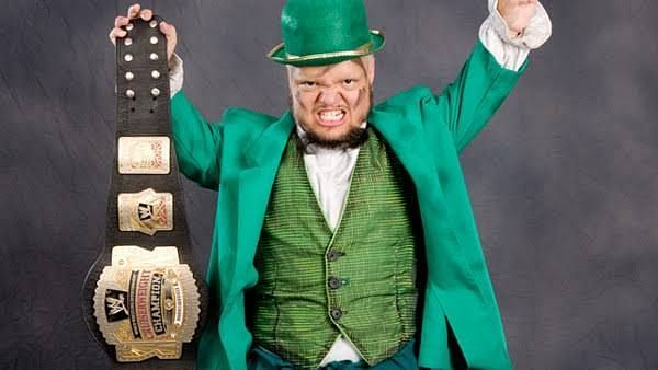 Hornswoggle pulled off the ultimate upset at The Great American Bash PPV in 2007 when he won the WWE Cruiserweight Championship