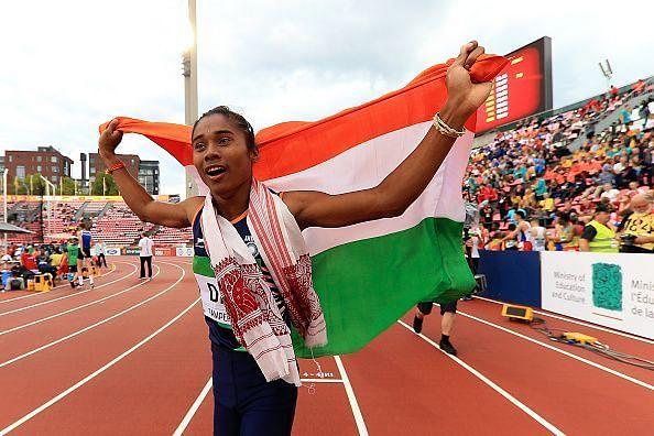 Hima Das has been on a Golden sprint