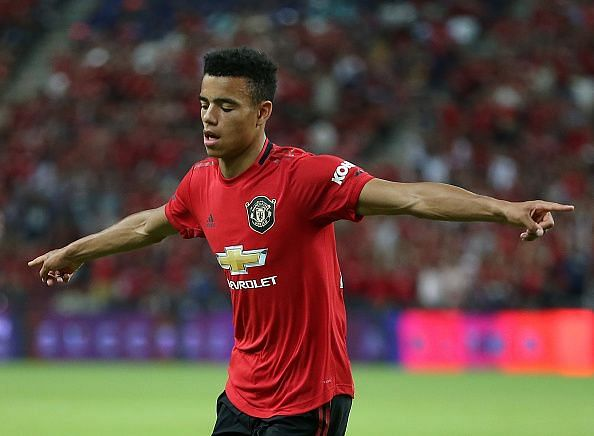 Mason Greenwood was one of the standout performers in pre-season