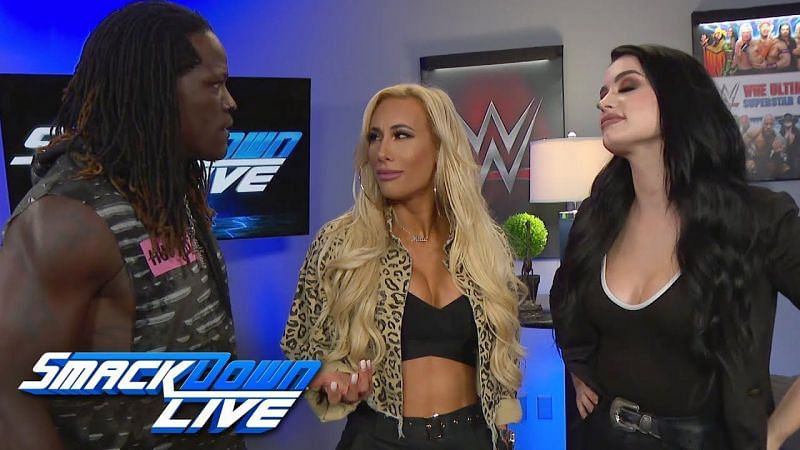 R-Truth is well-known for his comic timing and innovation, be it a backstage segment or an in-ring promo