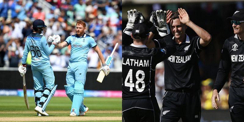 इंग्लैंड  vs न्यूजीलैंड