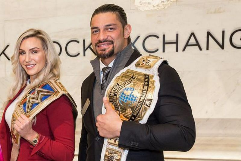 Charlotte Flair and Roman Reigns are the two obvious names!