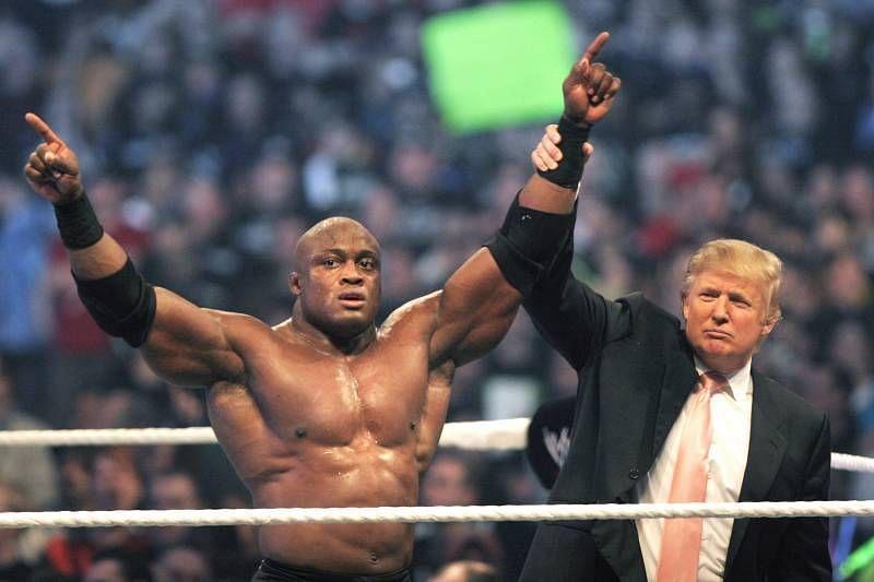 Donald Trump with Bobby Lashley