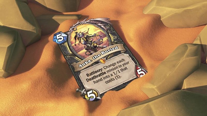 Anka, the Buried was revealed yesterday as part of the Saviors of Uldum expansion