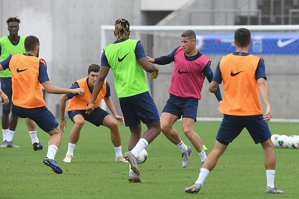All Chelsea players have returned for pre-season barring those sidelined by injury