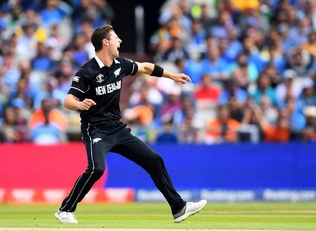 Matt Henry took three wickets