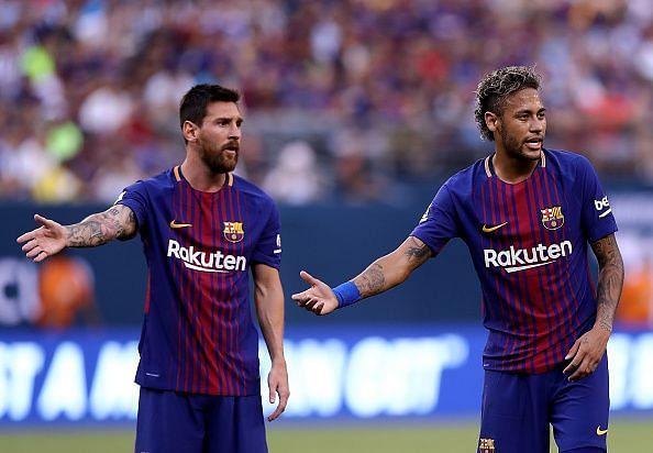No Messi-Neymar reunion this summer?