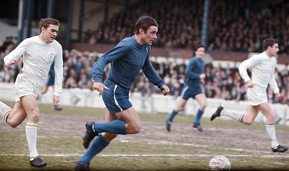 Bobby Tambling Chelsea v Leeds United 1967
