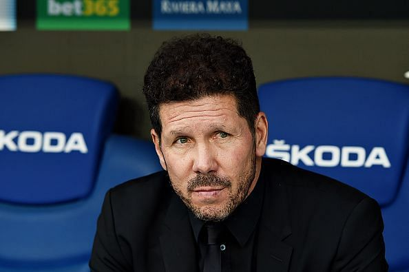 Simeone has lost his chief goal threat