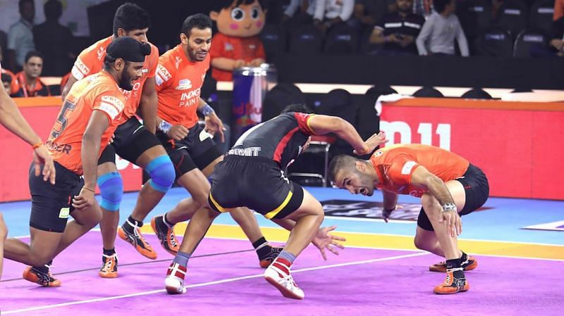 U Mumba have a strong defensive unit