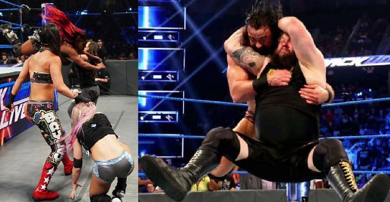 There were a number of interesting botches this week on SmackDown Live