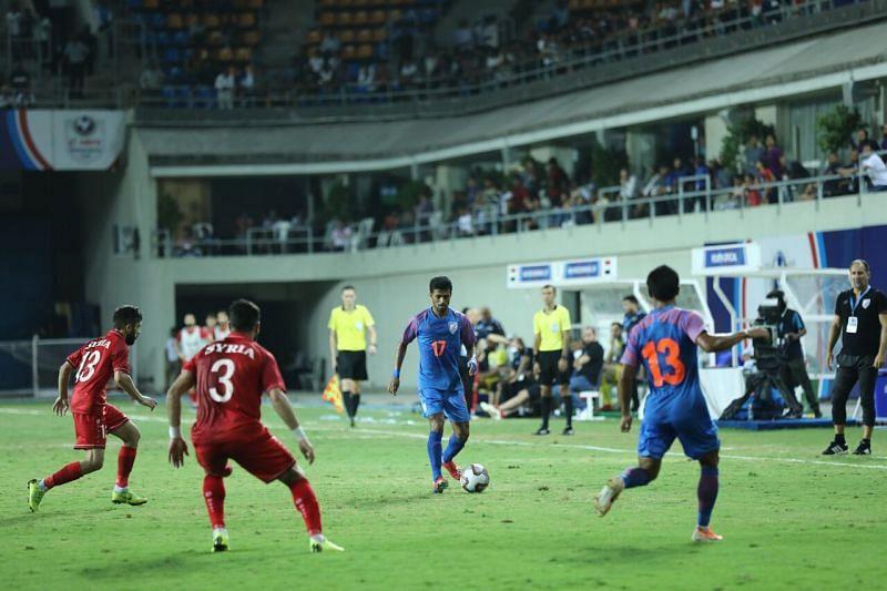 Mandar Rao Desai was off-colour throughout the game.
