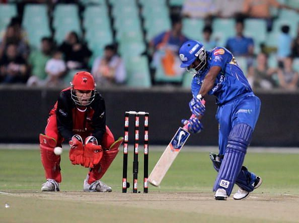 Rayudu played for the Mumbai Indians after returning from the ICL
